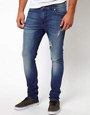 ASOS Super Skinny Jean With Rips