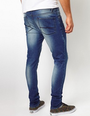 Image 2 of ASOS Super Skinny Jean With Rips