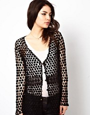 Meghan Fabulous  Faith  Strickjacke