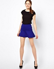 Warehouse Banded Flippy Skirt