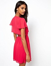 ASOS Open Back Wrap Dress