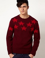 Common Sons Jumper with Gazer Print