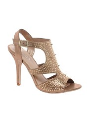 Carvela Goalie Studded Evening Sandals