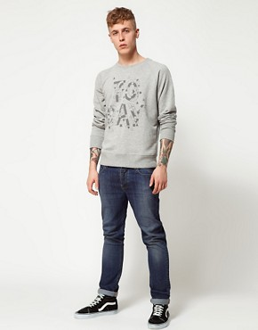 Image 4 of55DSL Crew Sweatshirt Little White Lies Online Exclusive Today Print