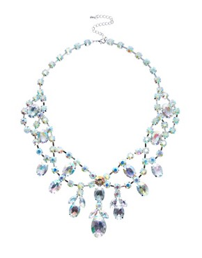 Image 1 ofASOS Premium Jewelled Bib Necklace