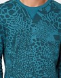 Immagine 3 di ASOS - Felpa con stampa animalier