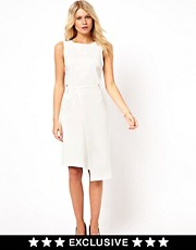 Love Midi Dress with Wrap Skirt