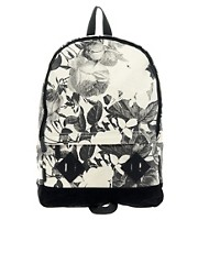 ASOS Rose Print Backpack