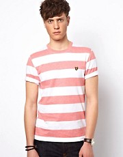 Camiseta colour block Hoop de Lyle and Scott Vintage