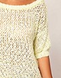 Image 3 of River Island Neon Mesh Sweater