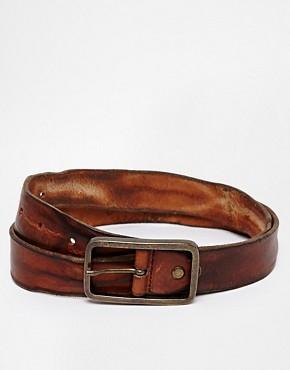 Selected Pete Leather Belt