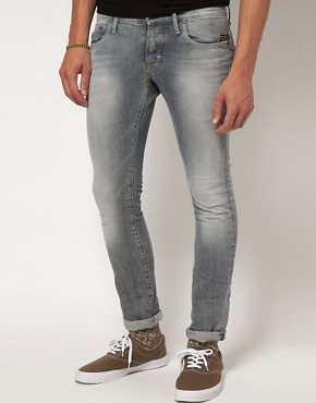 Image 1 ofG Star Heller Super Slim Jeans