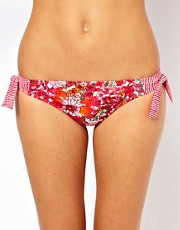 Esprit Acapulco Print Mini Hipster With Tie Sides