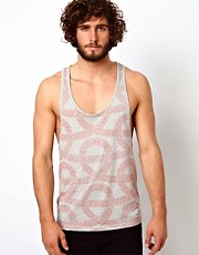 ASOS Tank With All Over Rope Print