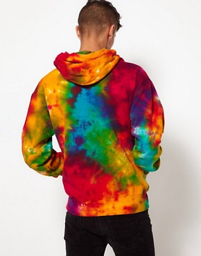 Image 2 ofReclaimed Vintage Hoodie with Tye-Dye