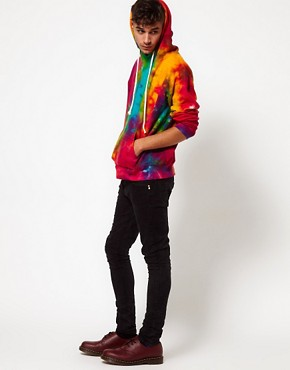 Image 4 ofReclaimed Vintage Hoodie with Tye-Dye