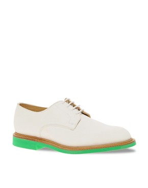 Image 1 ofMark McNairy New Amsterdam Suede Officers Shoes