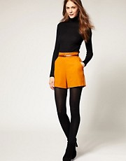 Whistles Minna High Waist Shorts