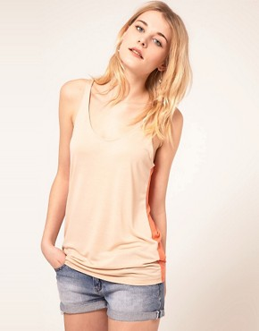 Image 1 ofFrench Connection Sleeveless Basic Top