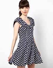 Pop Boutique 90s Polka Dress