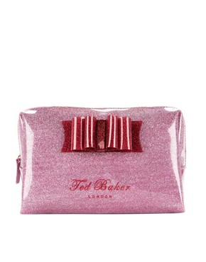 Image 1 of Ted Baker All Over Glitter Washbag