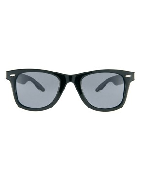 Image 2 ofJeepers Peepers Winston Black Wayfarer Sunglasses