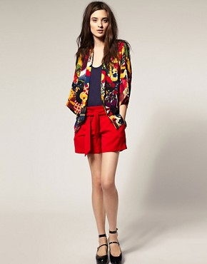 Image 4 ofVero Moda Kapow Print Kimono Jacket