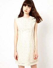 Pop Boutique Lace Shift Dress