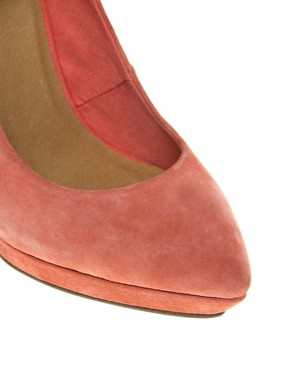 Image 2 ofASOS PROP Suede Pointed Platforms