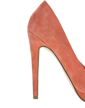 Image 3 ofASOS PROP Suede Pointed Platforms