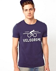 ASOS - T-shirt con stampa velodromo