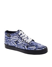 Lacoste Live Barbados Mid Feather Print Sneakers