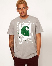 Carhartt - T-shirt con puzzle