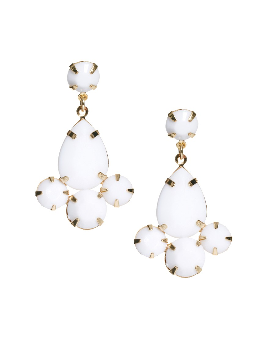 opaque earrings