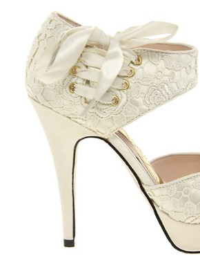 Image 3 ofChinese Laundry Head Over Heels Lace Sandal