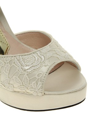 Image 4 ofChinese Laundry Head Over Heels Lace Sandal