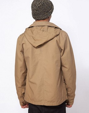 Image 2 ofVans California Jacket Carlsbad Detatchable Hooded Military