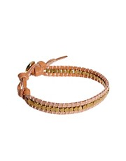 Orelia Leather Wrap Bracelet
