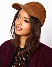 ASOS Suede Cap