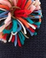 Image 2 ofASOS Multi Pom Pom Mitten