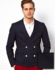 ASOS Slim Fit Double Breasted Blazer