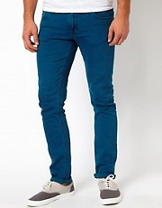 Nudie Jeans Tight Long John Skinny Fit Icon Blue