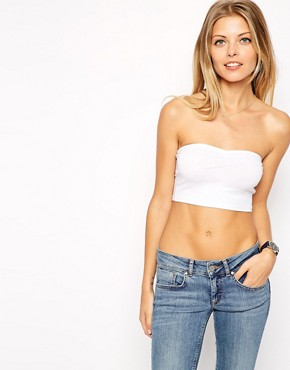 Image 4 ofASOS New Crop Bandeau Top