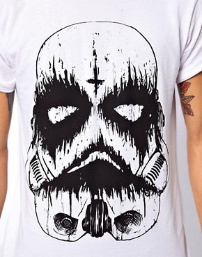 Image 3 ofAbandon Ship T-Shirt with Death Trooper Print