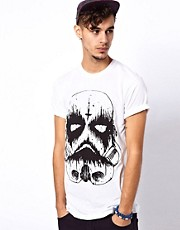 Abandon Ship T-Shirt with Death Trooper Print