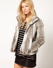 Oasis Short Faur Fur Jacket