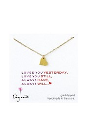Dogeared Love Heart Necklace