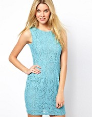 Darling Lace Dress with Tulip Skirt