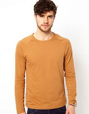ASOS Long Sleeve T-Shirt With Raglan Sleeves