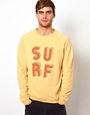 Jack & Jones Sweatshirt With Surf Print